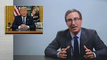 John Oliver slams Trump for pushing conspiracy theories about coronavirus