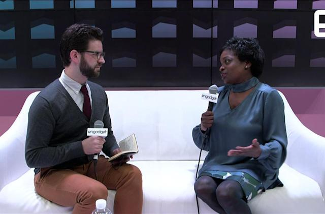 FCC Commissioner Clyburn talks about net neutrality at CES