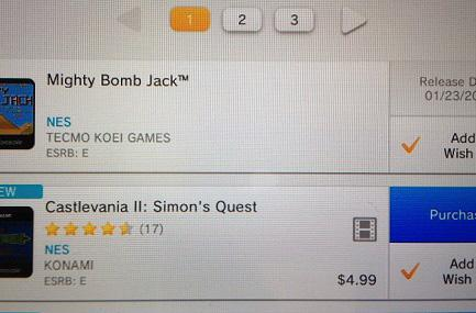 New Nintendo eShop releases: Mighty Bomb Jack, Life Force