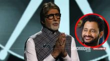 Amitabh Bachchan Hospitalisation: Resul Pookutty Says, 'Met Sir Last Friday, His Spirit Is Unbeatable And I Am Sure He Will Be Back Soon'- EXCLUSIVE