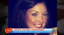 Brave Aussie honoured