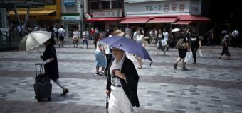 Deadly, record heatwave broils Japan