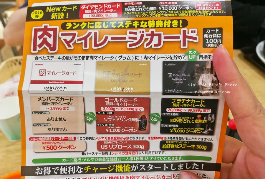 ikinari steak 日本人氣立食牛排20