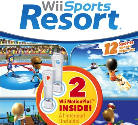 Wii Sports Resort bundle doubles-down with a MotionPlus pair: $60 on October 12