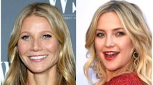 Gwyneth Paltrow and Kate Hudson reveal which actors give the best and worst on-screen kisses