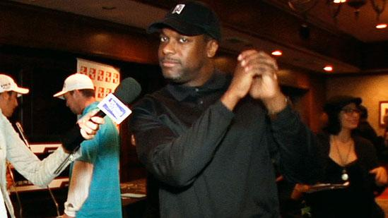 Chris Tucker and More Stay Dry at George Lopez's Golf Classic