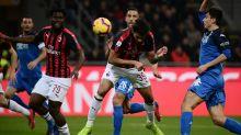 Franck Kessie on target in AC Milan's win over Empoli
