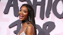 Germ-phobic Naomi Campbell's aeroplane routine involves rubber gloves and medical mask