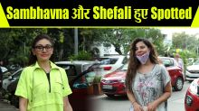 Shefali Jariwala & Sambhavana Seth Spotted AT Cafe