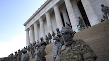 Chilling Image Of Masked Soldiers Blocking Lincoln Memorial Draws Outcry Online