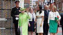 Herzogin Meghan: Ihr erster Solo-Auftritt mit der Queen
