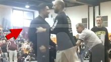 Mark Consuelos Restrained After Confronting Son's Wrestling Opponent