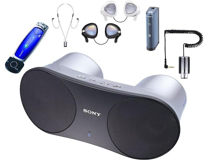 Sony goes ape with A2DP stereo Bluetooth accessories