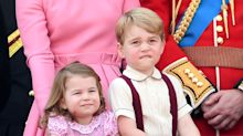 This is how many presents the royal children get