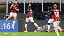 Football: face à l'Inter, Ibrahimovic offre le derby et la tête de la Serie A à l'AC Milan