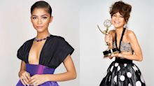 "Vestido exclusivo, joias de diamante e mais: os looks da ""patroa"" Zendaya no Emmy"