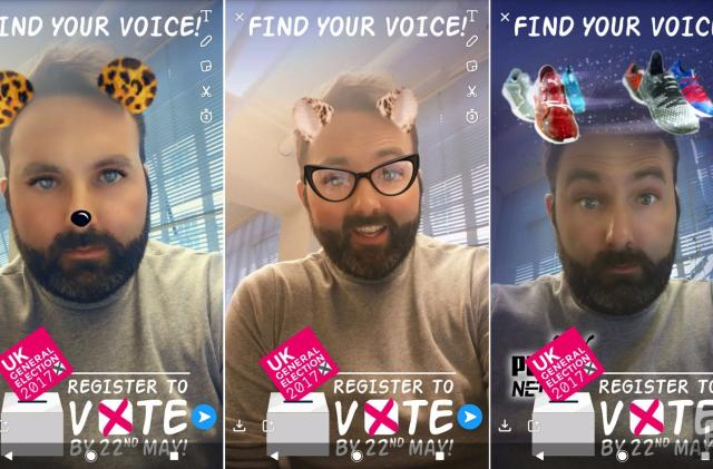 UK turns to Snapchat to boost young voter turnout