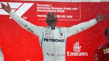 Lewis Hamilton escapes penalty to keep wild German GP win