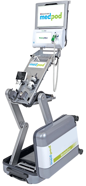 Henry Schein Medical Enhances Telemedicine Solution With Medpod MobileDoc 2