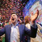 Ukraine election: Comedian Volodymr Zelensky elected president in landslide win, humiliating incumbent Petro Poroshenko