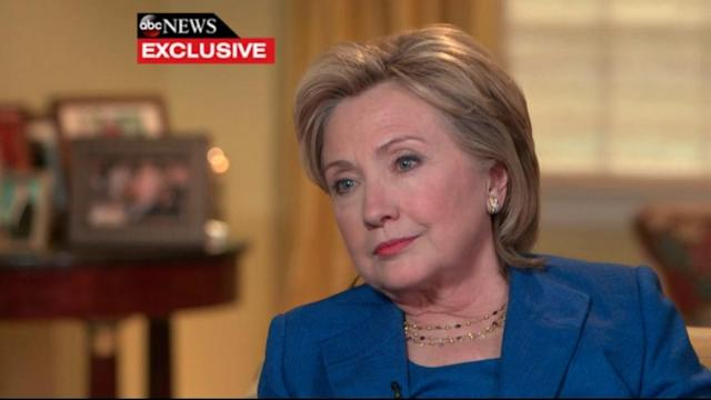 Hillary Clinton Deferred to Experts on Benghazi Security, Defends High-Dollar Speaking Fees