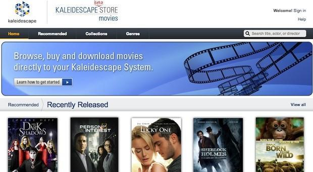 Kaleidescape Movie Store opens with Warner and UltraViolet, promises Blu-ray quality and extras