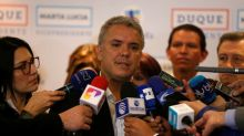 Right-winger Duque keeps lead in poll for Colombia election
