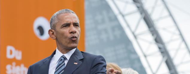Former President Barack Obama. (Getty Images)