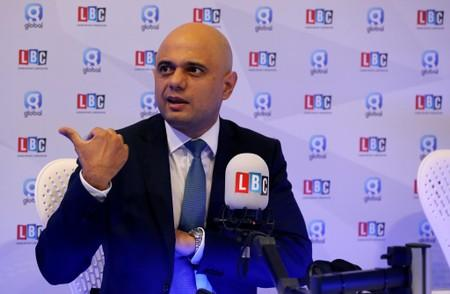 UK will leave the EU on October 31: finance minister Javid says