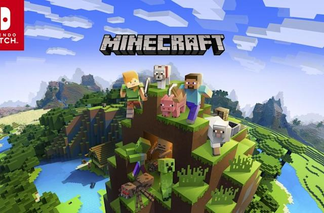 'Minecraft' update brings cross-platform play to Nintendo Switch June 21st