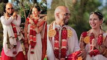 In Pics: Roadies' Raghu Ram Ties the Knot With Natalie Di Luccio
