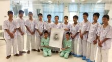 Thailand's rescued cave boys to address media on Wednesday