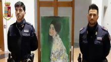 Painting found in Italian museum wall is stolen Klimt