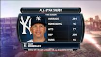 Boomer & Carton: A-Rod an All-Star snub?