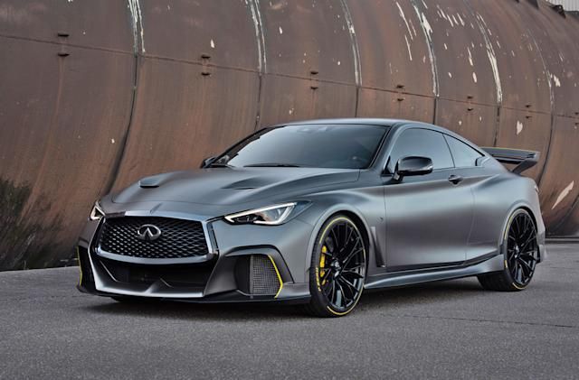 Infiniti 'dual-hybrid' concept car gathers heat to boost performance
