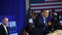 Obama urges New Jersey voters to reject 'politics of division'