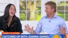 Chip Gaines likes wife Joanna pregnant because he used to date 'bigger-boned girls' (video)