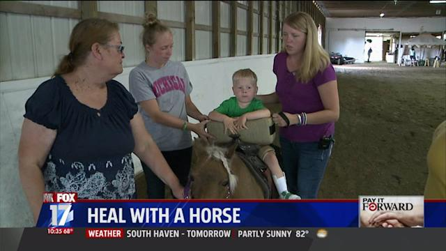 `Heal With A Horse` Struggles to Continue Helping Disabled Kids