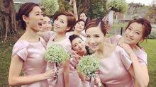 【2019伴娘&姊妹裙推介】讓閨蜜們都一起靚到盡!5個星級婚禮姊妹團示範