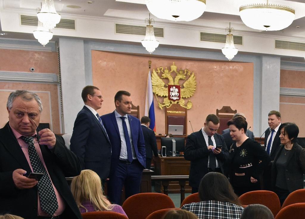Russia's Supreme Court banned the Jehovah's Witnesses movement last year (AFP Photo/Vasily MAXIMOV)