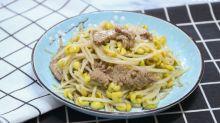 【家常味道】低脂肪、蛋白質豐富!香噴噴大豆芽炒牛肉