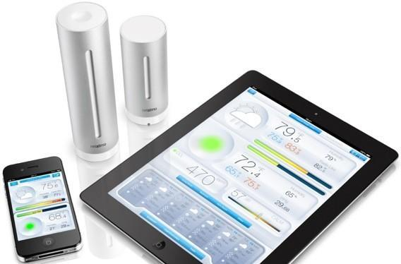 Netatmo Urban Weather Station tells iOS users when it's safe to brave the great outdoors (video)