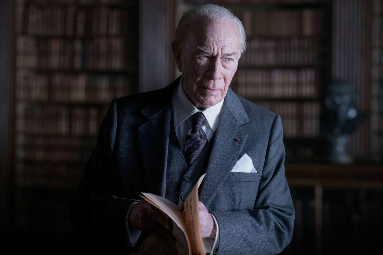Christopher Plummer ist tot: Der Mann, der 80 Jahre auf den Oscar warten musste