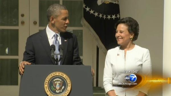 Penny Pritzker nominated for Commerce Secretary by Obama