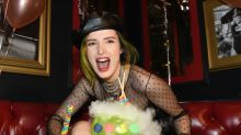 Bella Thorne celebrates her 21st birthday with a private jet, KFC, and champagne