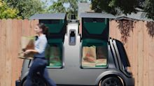 Major grocer debuts self-driving delivery in Scottsdale
