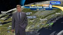 Cool overnight as drier air moves in
