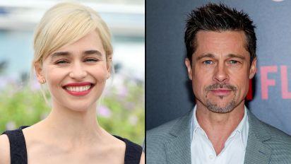 GoT star describes 'weird' Brad Pitt experience