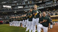 Bruce Maxwell still receiving threats after kneeling for anthem in 2017