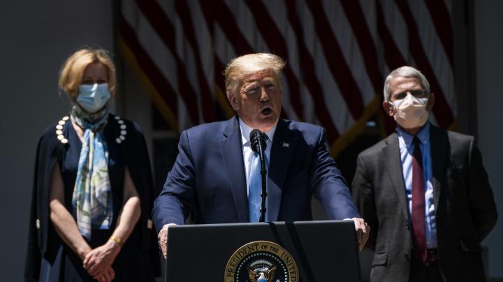 'Testing is killing me!': Inside Trump's COVID response
